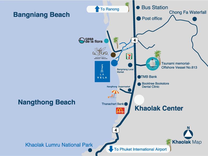 La vela khao lak official website google map gumiabroncs Images